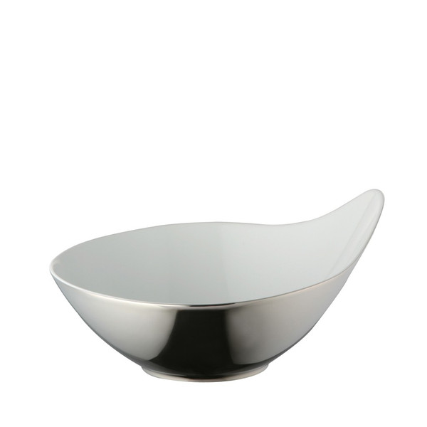 Vegetable Bowl, Titanium, 9 3/4 inch, 59 ounce   Rosenthal Free Spirit Stars