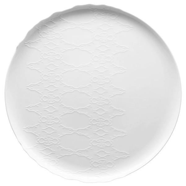 Platter, Round, 12 inch | Landscape White
