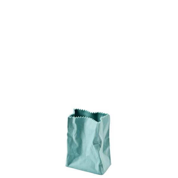 Paper Bag Vase, 4 inch | Bag Vase - Green (321333)