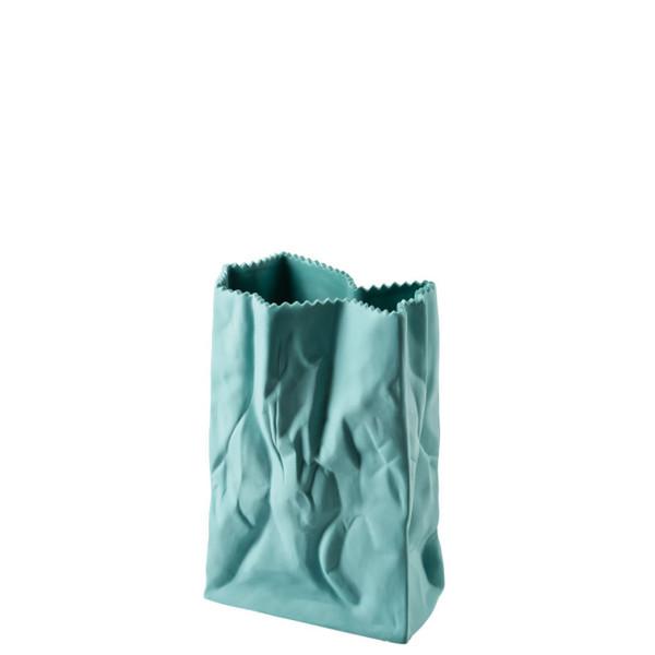 Paper Bag Vase, 7 inch | Bag Vase - Green (321333)