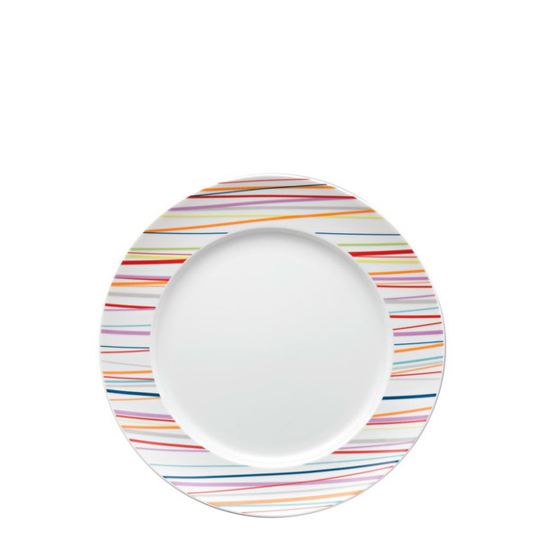 Salad Plate, 8 1/2 inch | Sunny Day Stripes