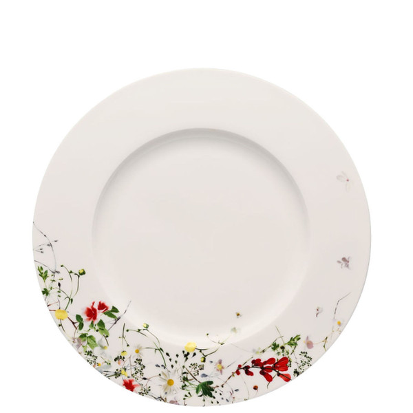 Dinner Plate, rim, 11 inch | Rosenthal Brillance Fleurs Sauvages