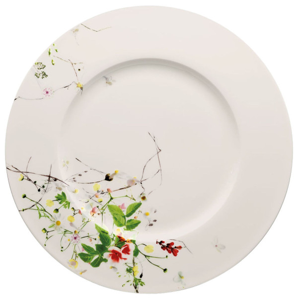 Service Plate, rim, 13 inch | Rosenthal Brillance Fleurs Sauvages