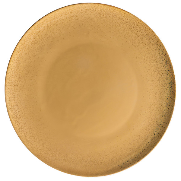 Service Plate, 13 inch   TAC Palazzo Gold