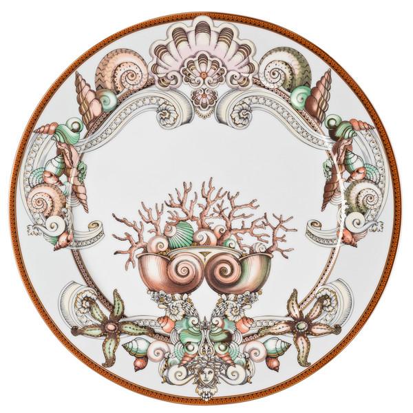 Service Plate, 13 inch | Versace Etoiles de la Mer
