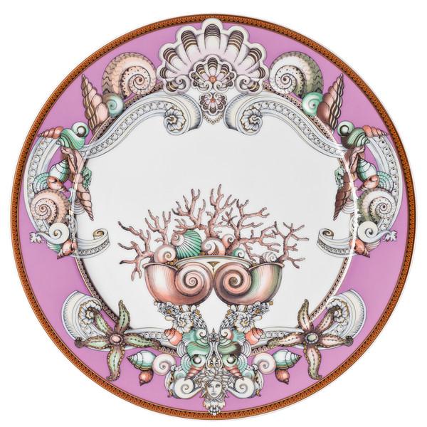 Purple Service Plate, 13 inch | Etoiles de la Mer