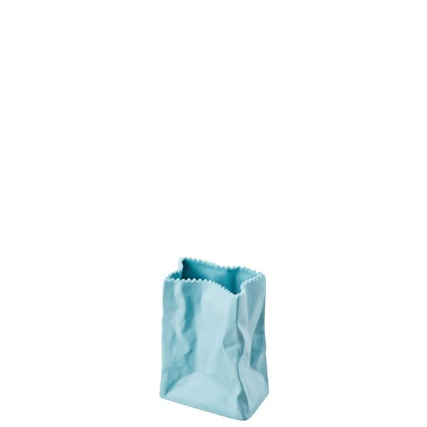Vase, Azur, 4 inch | Paper Bag Vase