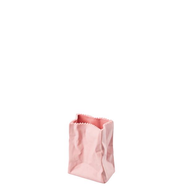 Vase, Rose, 4 inch | Paper Bag Vase