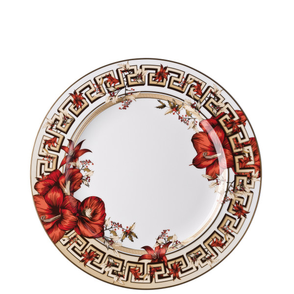Dinner Plate, 10 1/2 inch | Versace Christmas Blooms