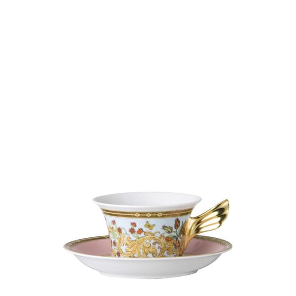 Tea Cup & Saucer, 6 1/4 inch, 7 ounce | Butterfly Garden