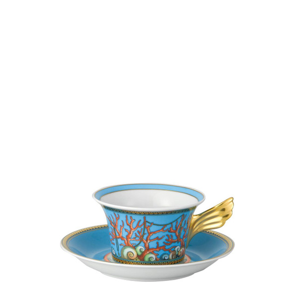 Tea Cup & Saucer, 6 1/3 inch, 7 ounce | La Mer