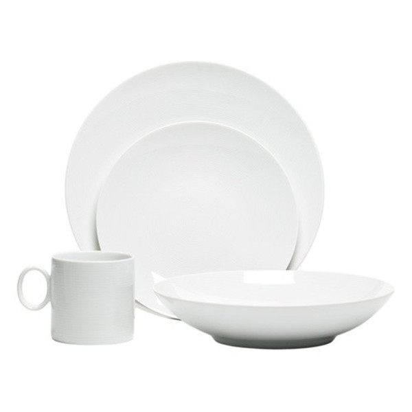 Loft White 16pc. Set | Thomas Loft White