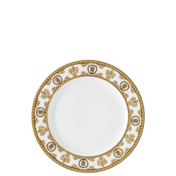 Salad Plate, 8 1/2 inch | I Love Baroque Bianco