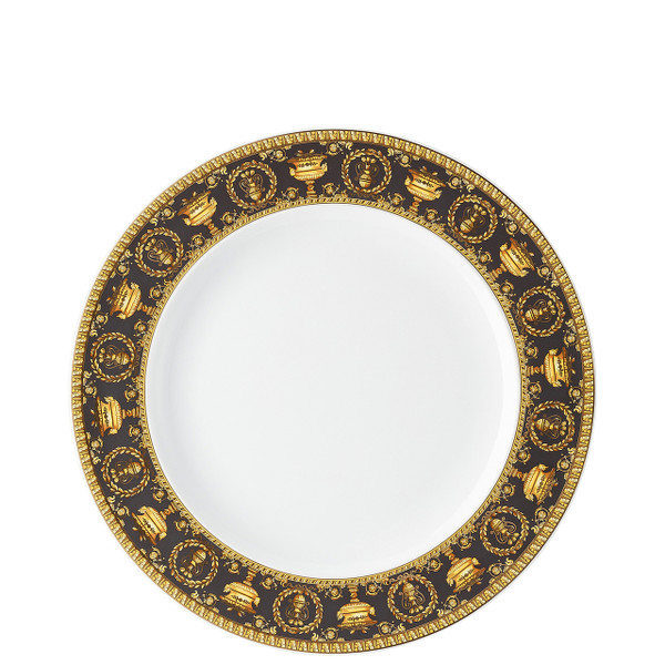 Dinner Plate, 10 1/2 inch | I Love Baroque Nero