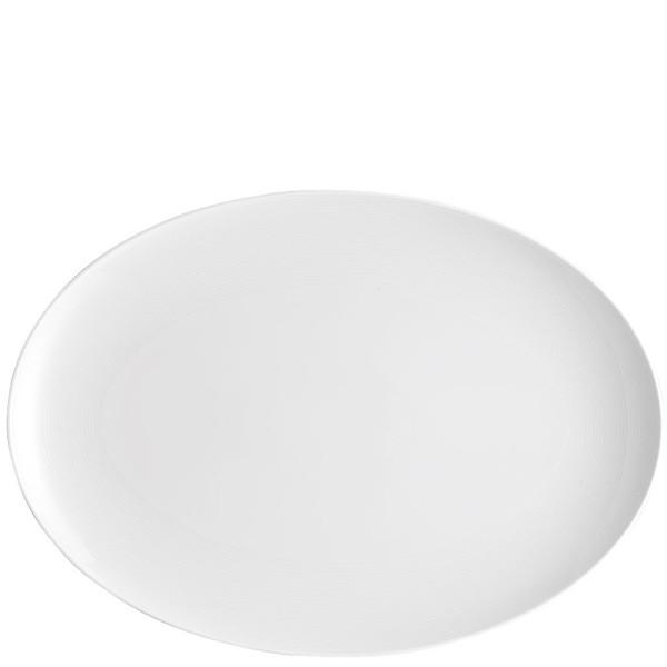 Platter, 15 3/4 inch | Loft White