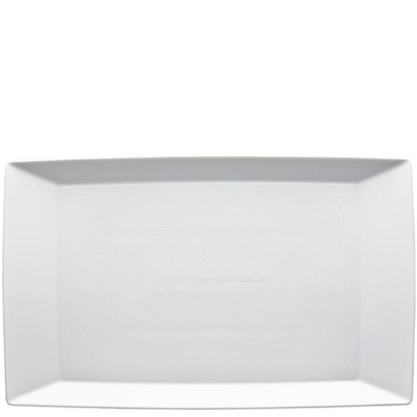 Tray/Rectangular Platter, 15 1/2 x 9 1/2 inch | Loft White