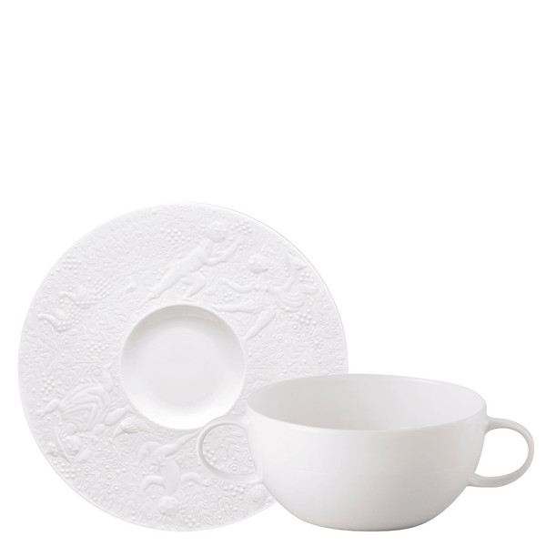 Cream Soup Cup u0026 Saucer 7 1/4 inch 12 ounce | Magic  sc 1 st  Rosenthal & Plates | Rosenthal Shop