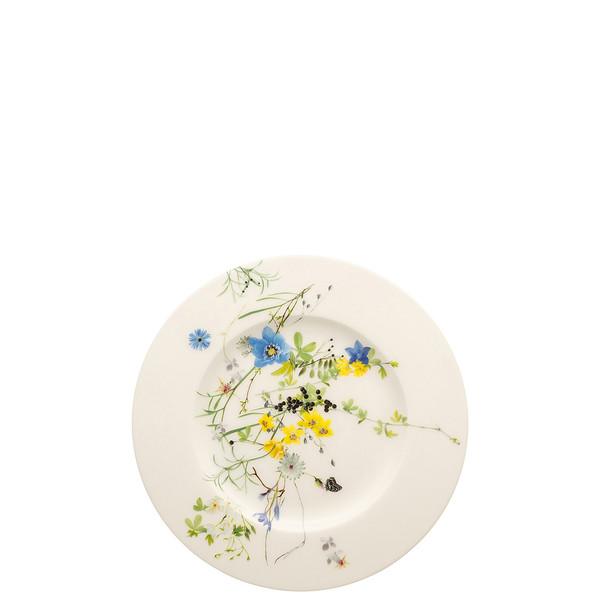 Plate with Rim, 7 1/2 inch | Brillance Fleurs des Alpes