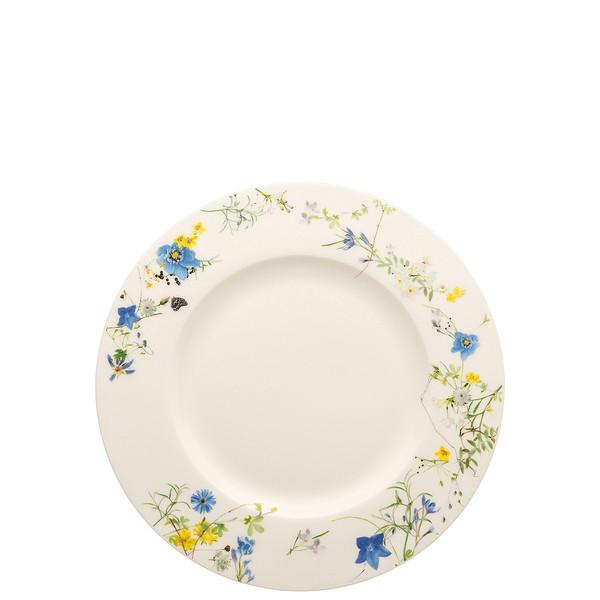 Plate with Rim, 9 inch | Brillance Fleurs des Alpes