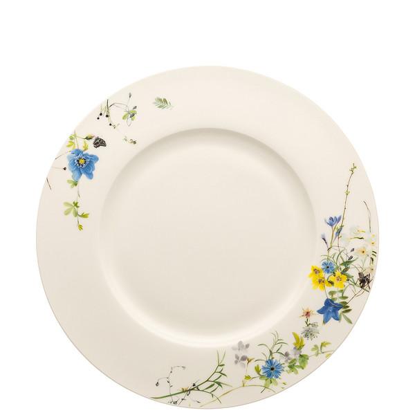 Plate with Rim, 11 inch | Brillance Fleurs des Alpes
