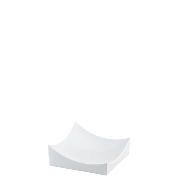 Dish, White, 5 1/2 x 5 1/2 inch   Roof