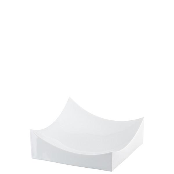 Dish, White, 8 x 8 inch   Roof