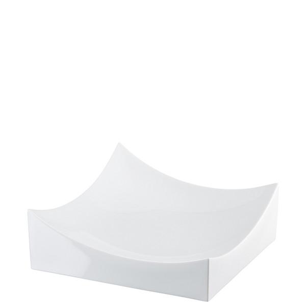 Dish, White, 10 1/4 x 10 1/4 inch | Roof