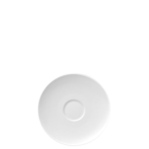 Tea Saucer, Low, 6 1/2 inch | Loft White