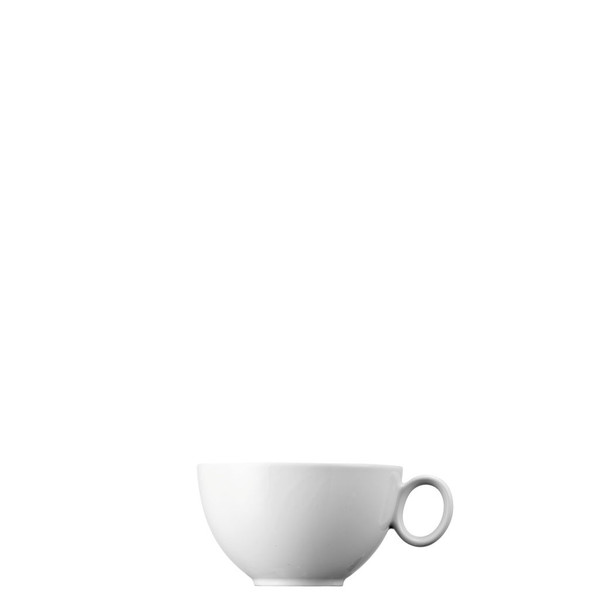 Tea Cup, Low, 8 ounce | Loft White
