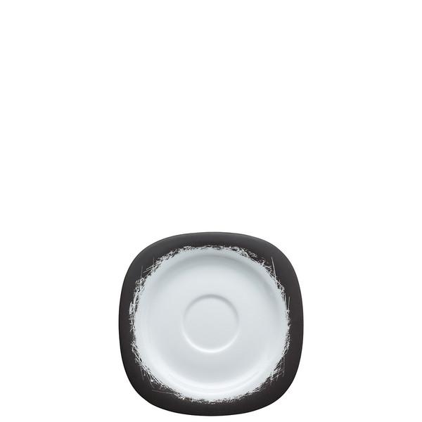 Cappuccino Saucer, 6 1/4 x 7 1/2 inch | Suomi Ardesia