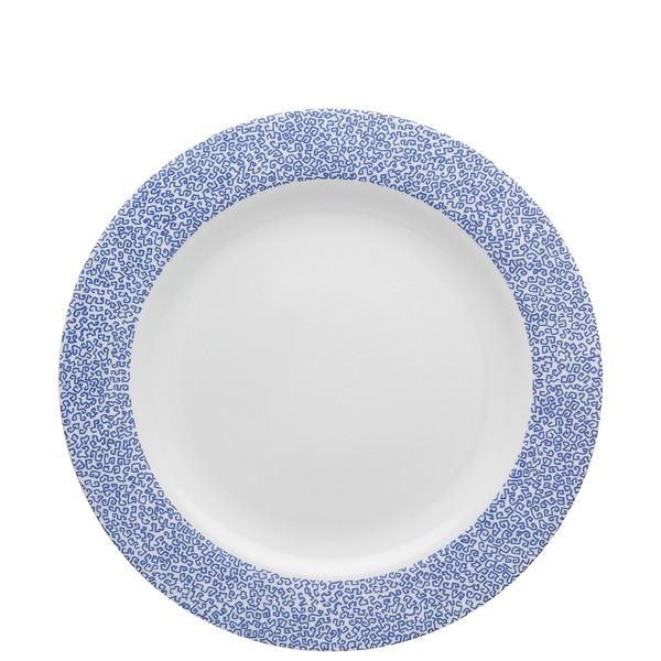 Dinner Plate, 11 inch   Moon Cipango Blue