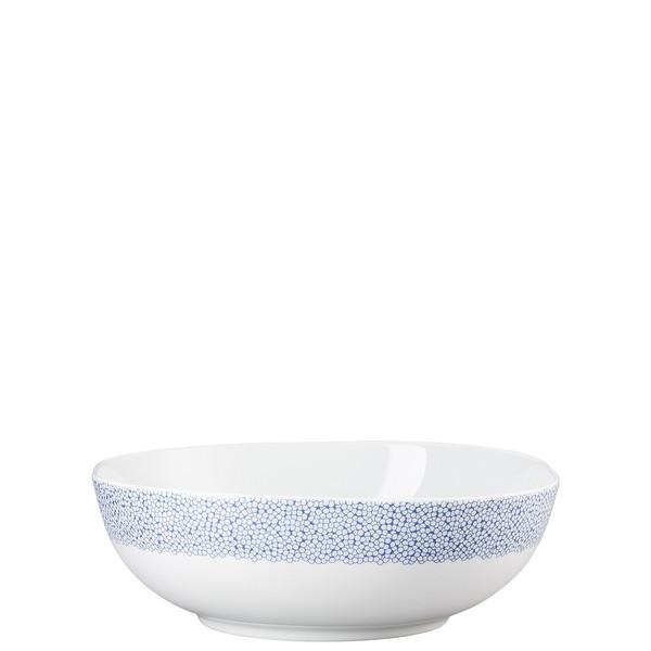 Vegetable Bowl, Open, 10 inch, 80 ounce   Moon Cipango Blue