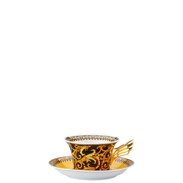 Tea Cup & Tea Saucer | 25 Years Barocco