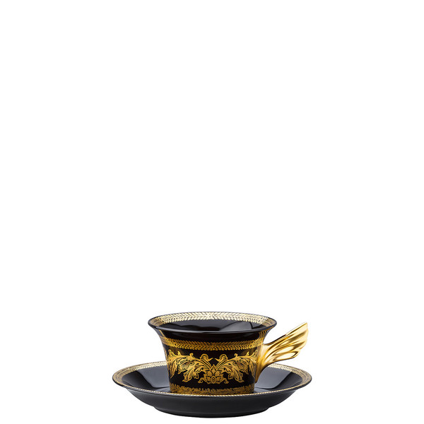 Tea Cup & Tea Saucer | 25 Years Gold Baroque