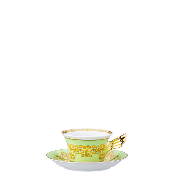 Tea Cup & Tea Saucer | 25 Years Green Floralia
