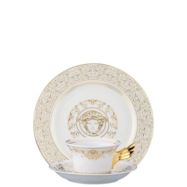 Tea Cup, Tea Saucer & Dessert Plate Set, 3 pieces | 25 Years Medusa Gala