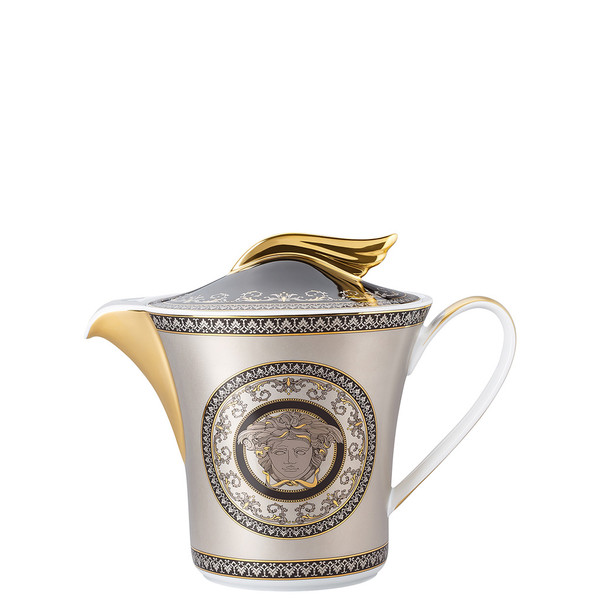 Tea Pot, 43 ounce | 25 Years Medusa Silver