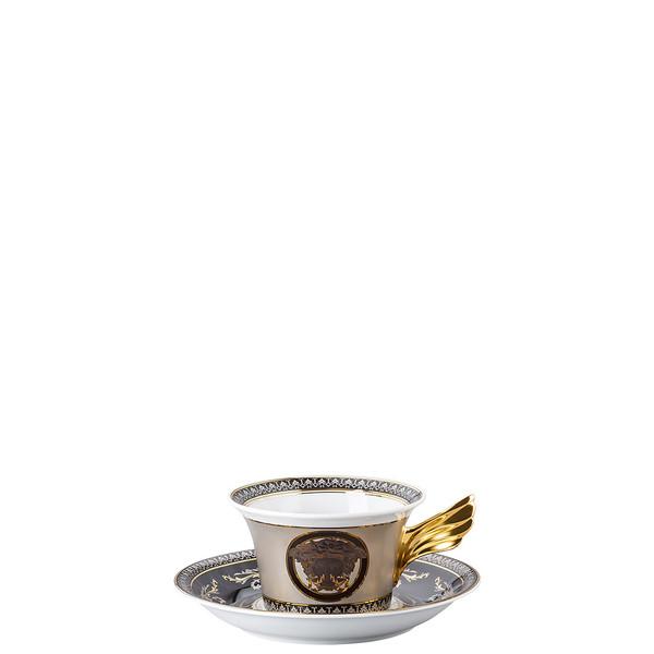 Tea Cup & Tea Saucer | 25 Years Medusa Silver