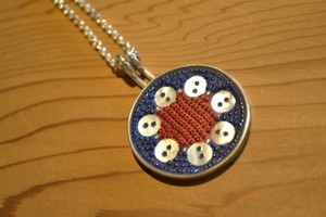 Seven Button Pendant