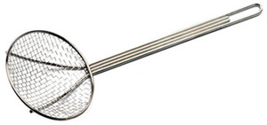 "18"" Nickle-Plated Mesh Skimmer - 0186"