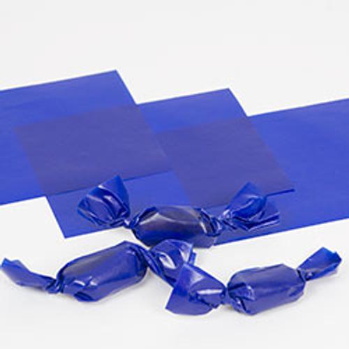 """Blue Caramel Wrappers 4"""" x 5"""" - 1 lb. Pkg"""