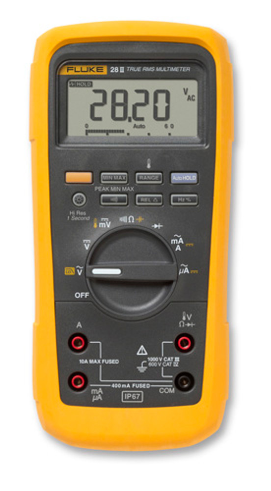 Fluke 28 II True RMS Waterproof Rugged Digital Multimeter