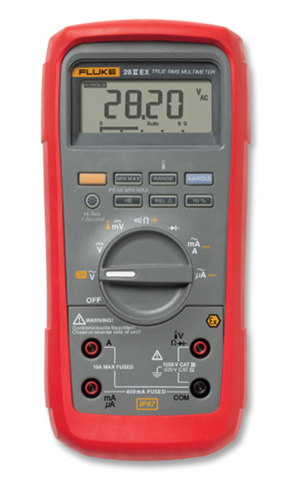 Fluke 28IIEX/ETL Intrinsically Safe True RMS Multimeter