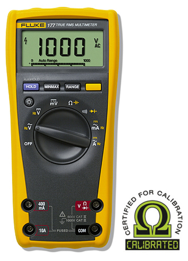 Fluke 177 True RMS Digital Multimeter - Calibrated