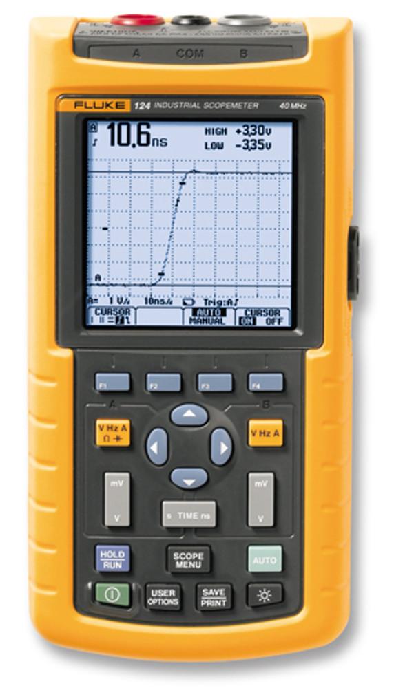 Fluke 124/003 Scopemeter 40MHz Oscilloscope