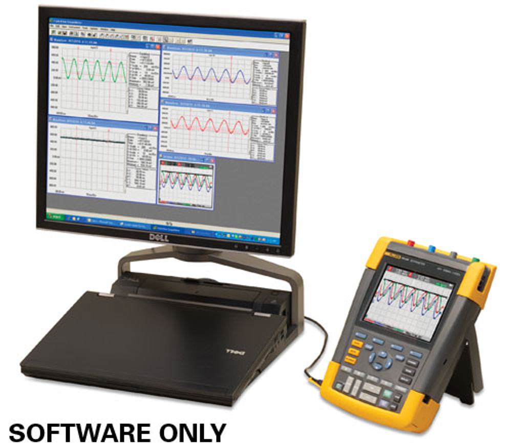 Fluke SCC290 FlukeView Software and Carrying Case Kit