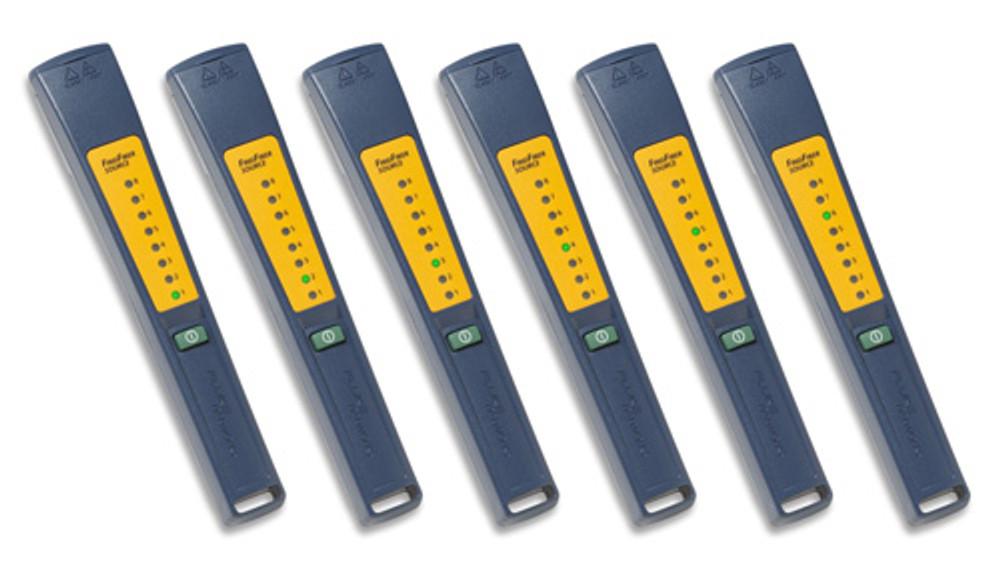 Fluke Networks FindFiber-6 Set of Six Remote ID Sources