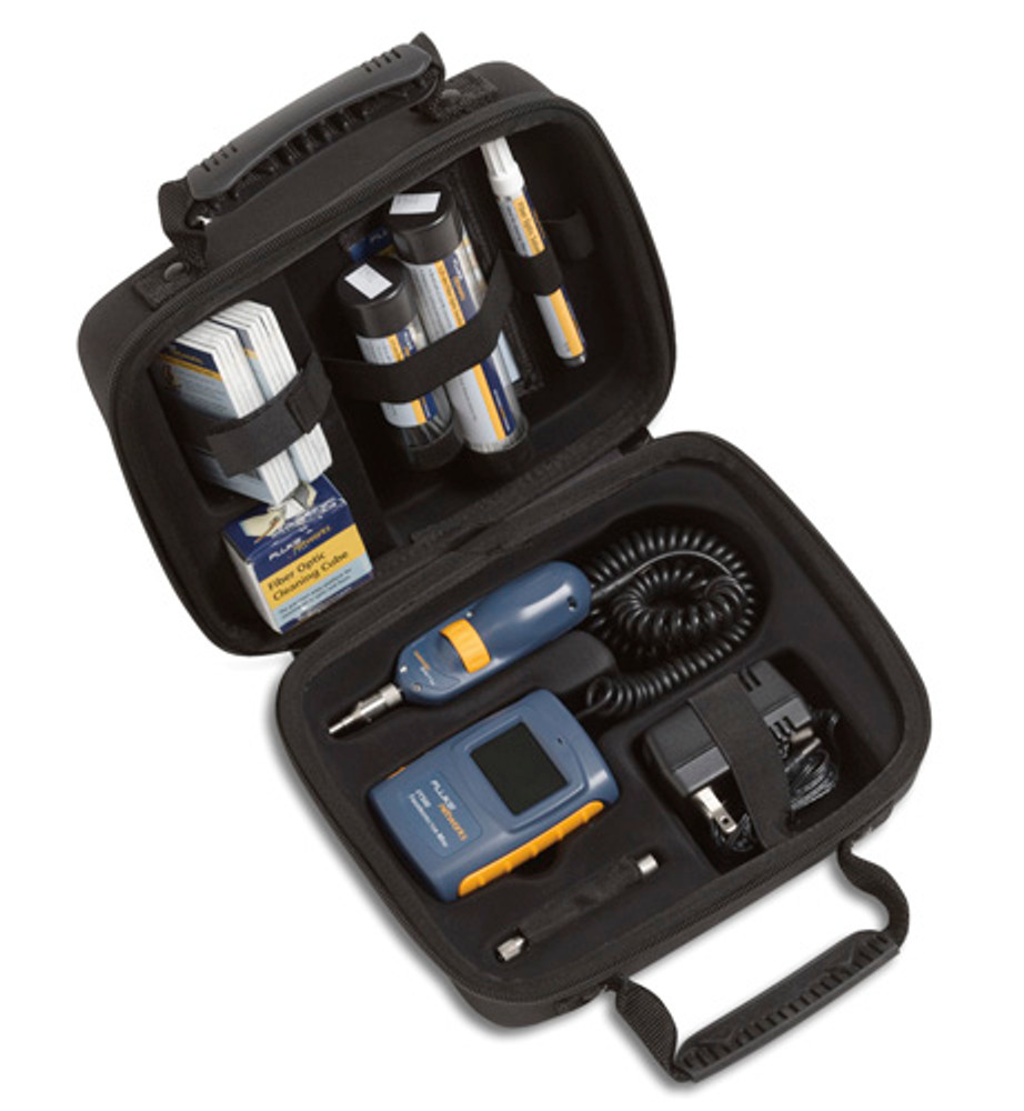 Fluke Networks FT525 FiberInspector Mini with Cleaning Kit