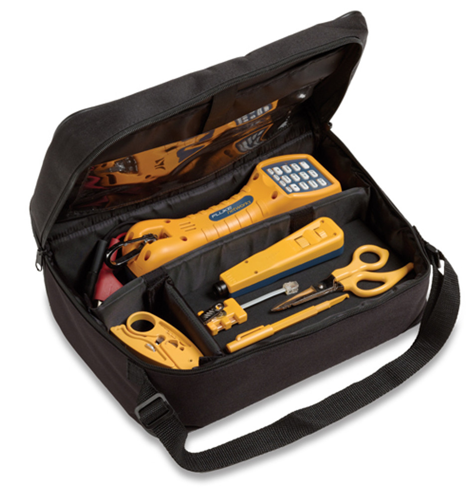 Fluke Networks 11290000 Electrical Contractor Telecom Kit I