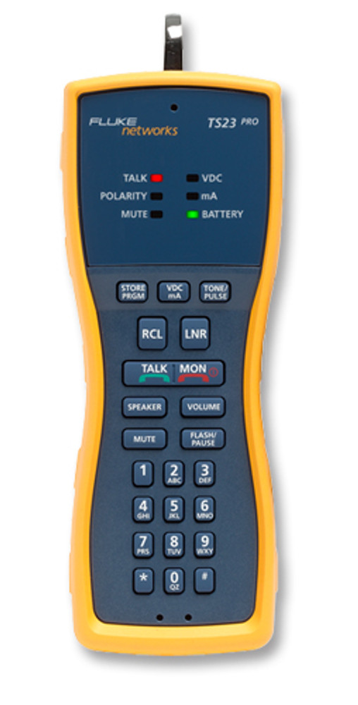 Fluke Networks TS23-A-09 Test Set w/ABN & Piercing Pin Cord Set